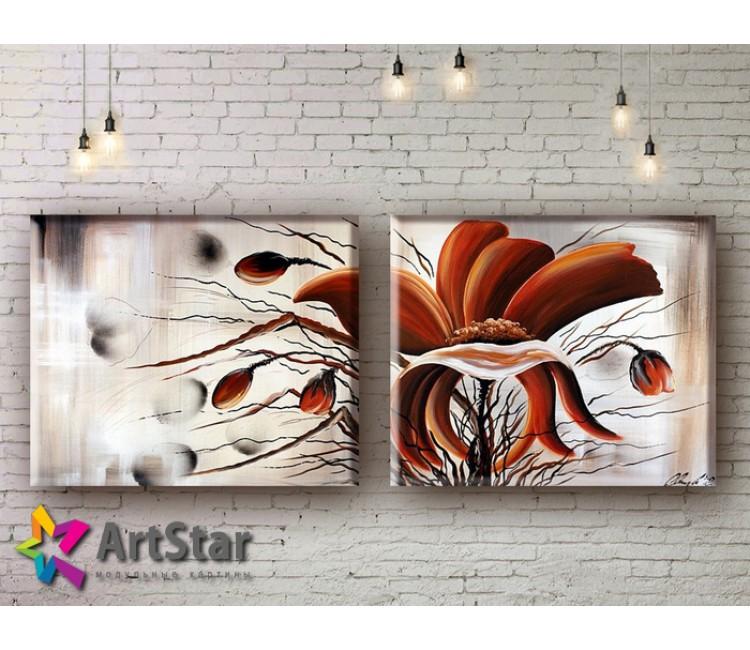 Модульные Картины, рисованные, маслом, Art. MHM17_2_027