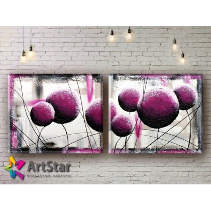 Модульные Картины, рисованные, маслом, Art. MHM17_2_039