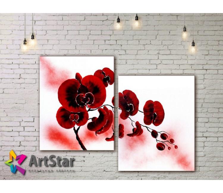 Модульные Картины, рисованные, маслом, Art. MHM17_2_069