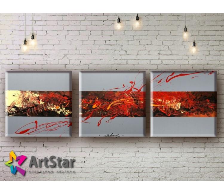 Модульные Картины, рисованные, маслом, Art. MHM17_3_001