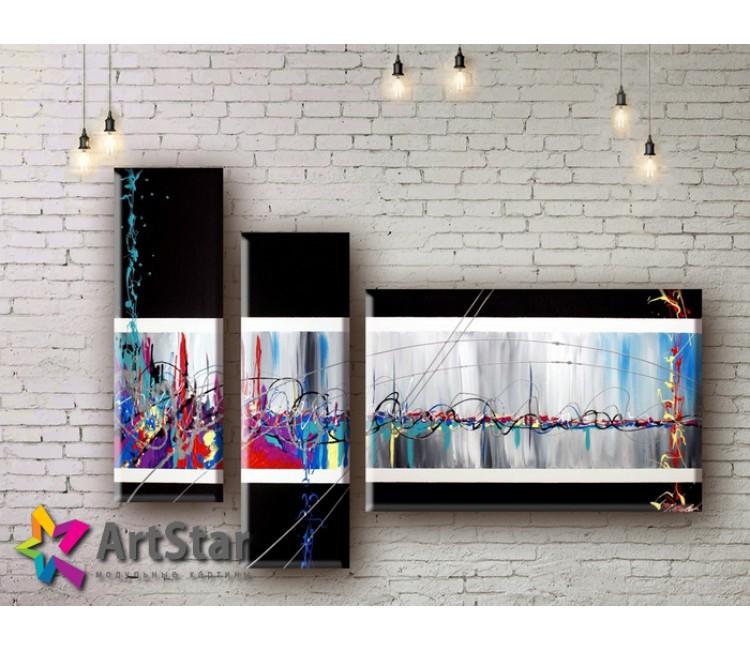 Модульные Картины, рисованные, маслом, Art. MHM17_3_017