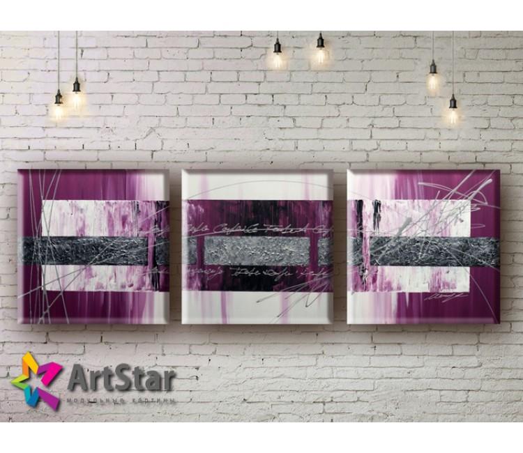 Модульные Картины, рисованные, маслом, Art. MHM17_3_027