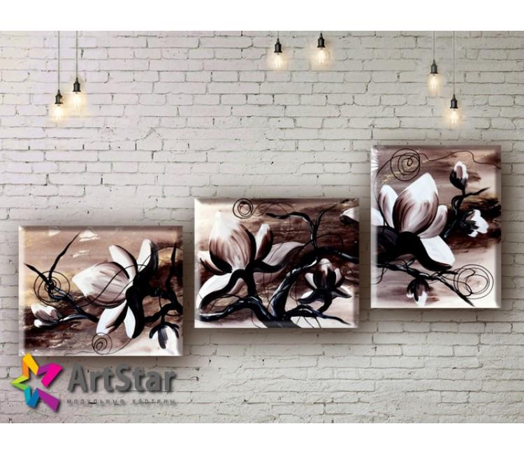 Модульные Картины, рисованные, маслом, Art. MHM17_3_039