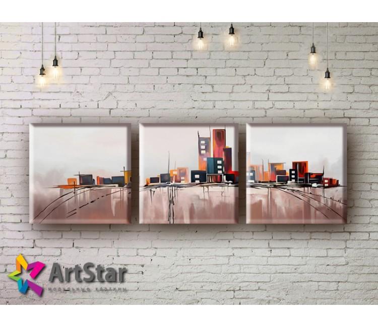 Модульные Картины, рисованные, маслом, Art. MHM17_3_055