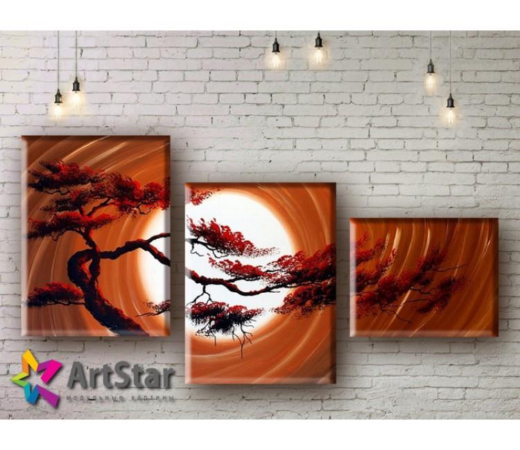 Модульные Картины, рисованные, маслом, Art. MHM17_3_061