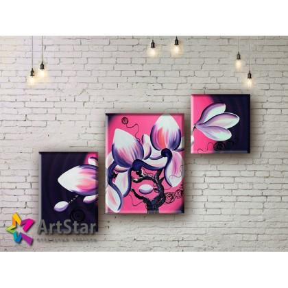 Модульные Картины, рисованные, маслом, Art. MHM17_3_065
