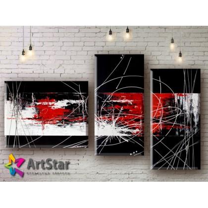 Модульные Картины, рисованные, маслом, Art. MHM17_3_067