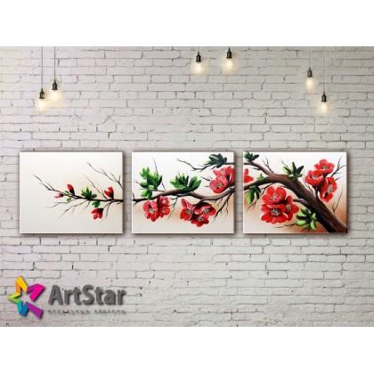 Модульные Картины, рисованные, маслом, Art. MHM17_3_079