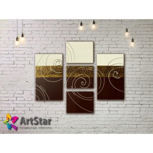Модульные Картины, рисованные, маслом, Art. MHM17_3_083