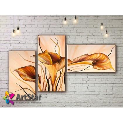 Модульные Картины, рисованные, маслом, Art. MHM17_3_091