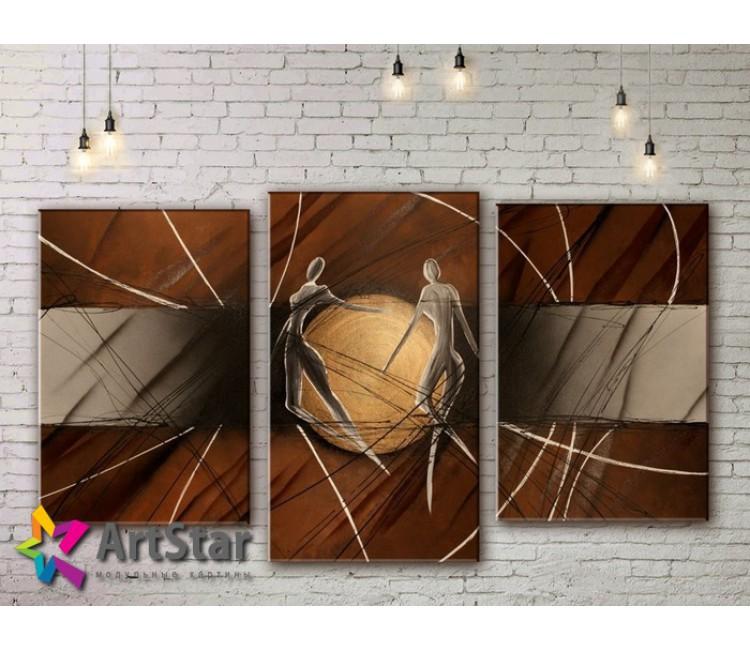 Модульные Картины, рисованные, маслом, Art. MHM17_3_095