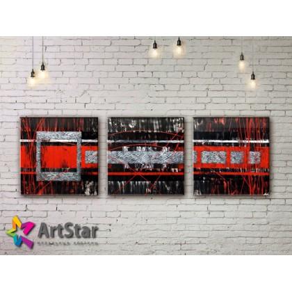 Модульные Картины, рисованные, маслом, Art. MHM17_3_097