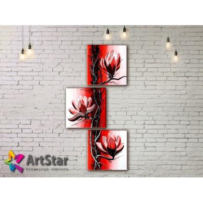 Модульные Картины, рисованные, маслом, Art. MHM17_3_130
