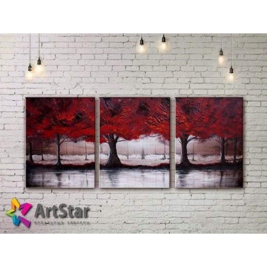 Модульные Картины, рисованные, маслом, Art. MHM17_3_134