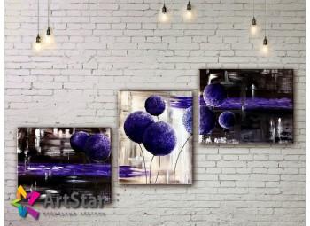 Модульные Картины, рисованные, маслом, Art. MHM17_3_136