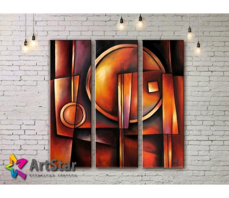 Модульные Картины, рисованные, маслом, Art. MHM17_3_146