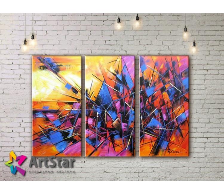 Модульные Картины, рисованные, маслом, Art. MHM17_3_148