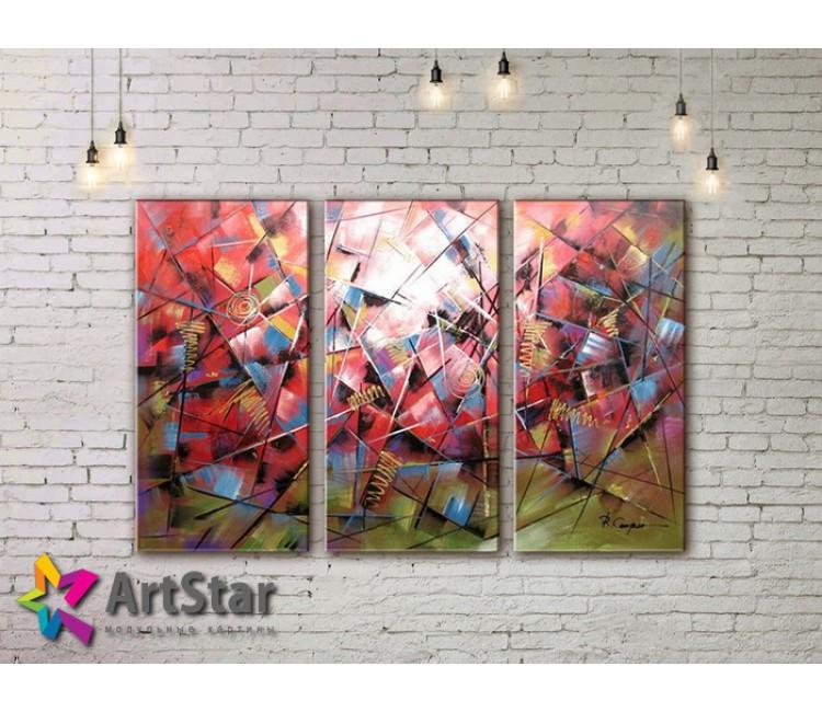 Модульные Картины, рисованные, маслом, Art. MHM17_3_160