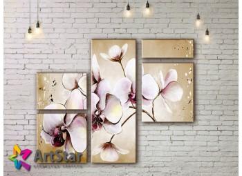 Модульные Картины, рисованные, маслом, Art. MHM17_3_176