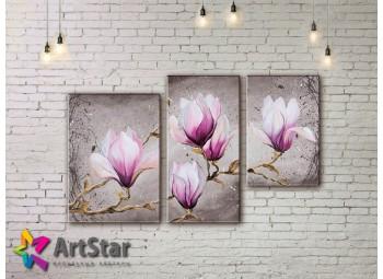 Модульные Картины, рисованные, маслом, Art. MHM17_3_186