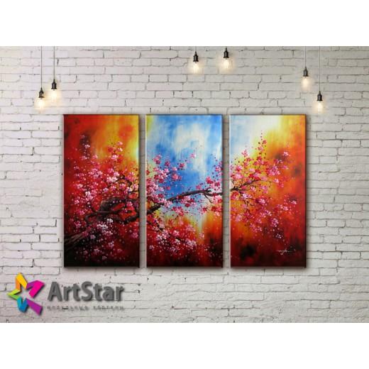 Модульные Картины, рисованные, маслом, Art. MHM17_3_192