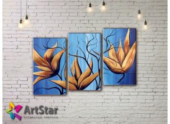 Модульные Картины, рисованные, маслом, Art. MHM17_3_224