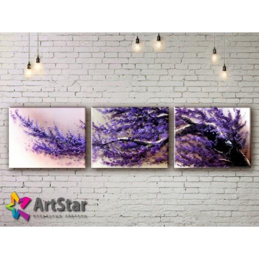 Модульные Картины, рисованные, маслом, Art. MKM17_3_011