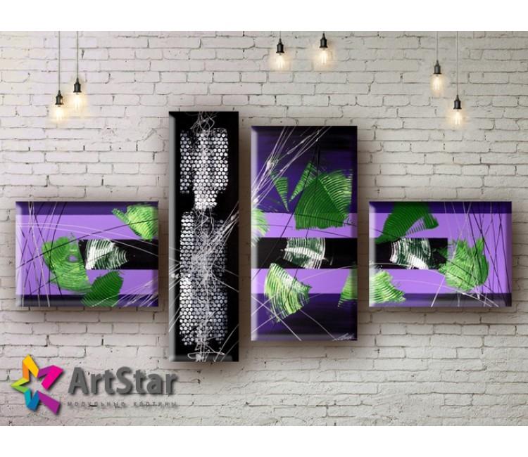 Модульные Картины, рисованные, маслом, Art. MHM17_4_029