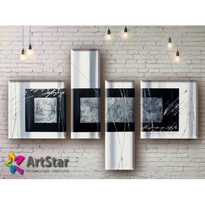 Модульные Картины, рисованные, маслом, Art. MHM17_4_035