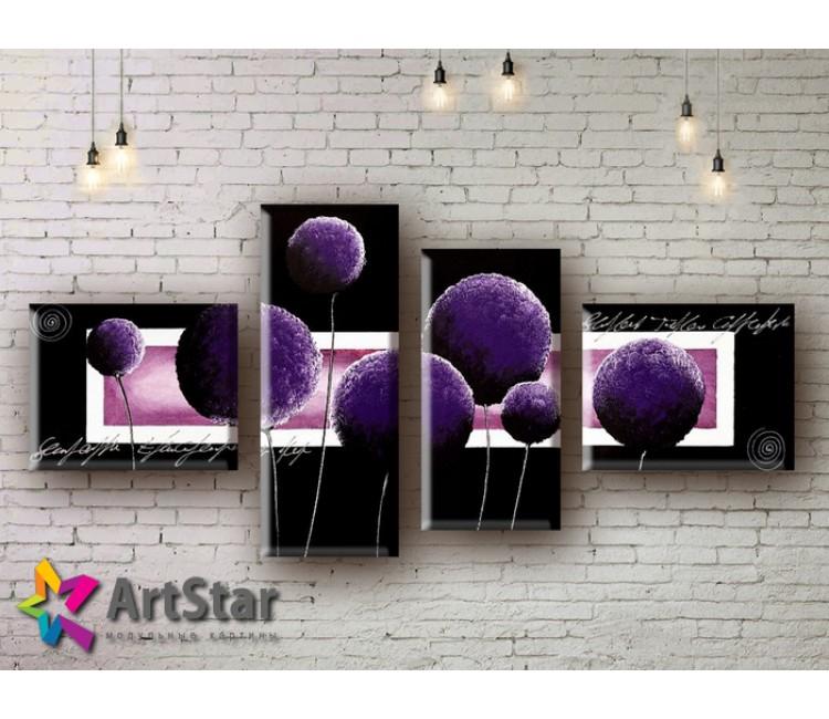 Модульные Картины, рисованные, маслом, Art. MHM17_4_062