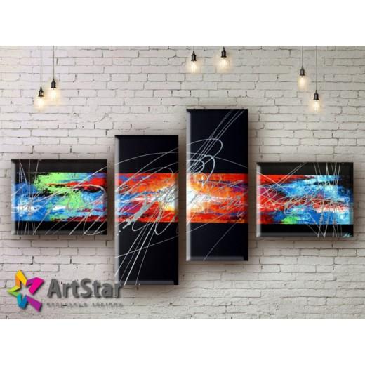 Модульные Картины, рисованные, маслом, Art. MHM17_4_072