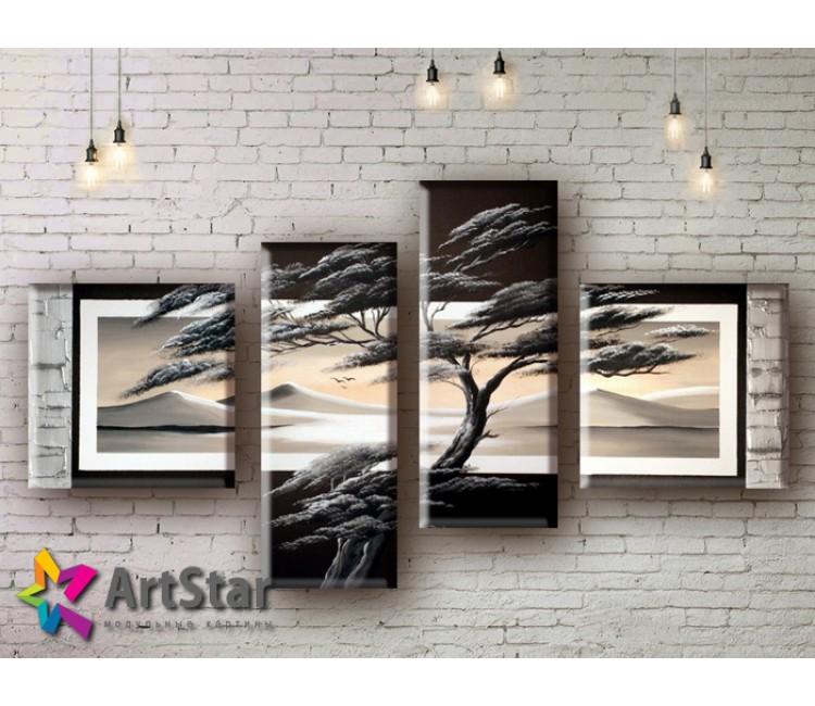 Модульные Картины, рисованные, маслом, Art. MHM17_4_090