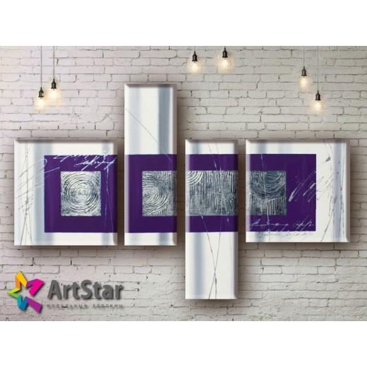 Модульные Картины, рисованные, маслом, Art. MHM17_4_102