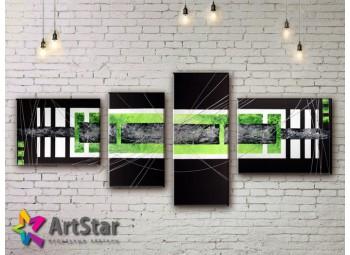 Модульные Картины, рисованные, маслом, Art. MHM17_4_108