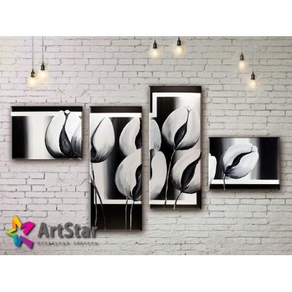 Модульные Картины, рисованные, маслом, Art. MHM17_4_138