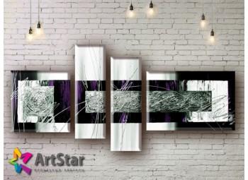 Модульные Картины, рисованные, маслом, Art. MHM17_4_146