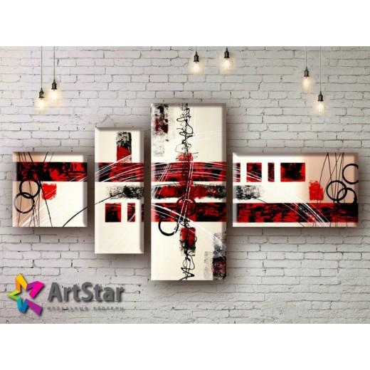 Модульные Картины, рисованные, маслом, Art. MHM17_4_162