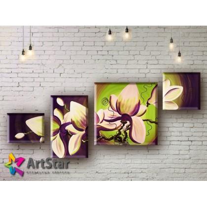 Модульные Картины, рисованные, маслом, Art. MHM17_4_194