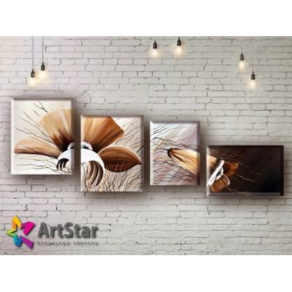 Модульные Картины, рисованные, маслом, Art. MHM17_4_208