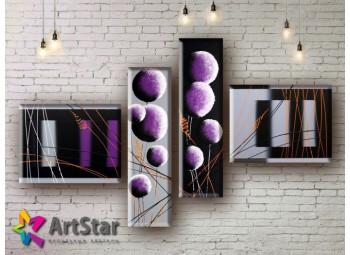 Модульные Картины, рисованные, маслом, Art. MHM17_4_212