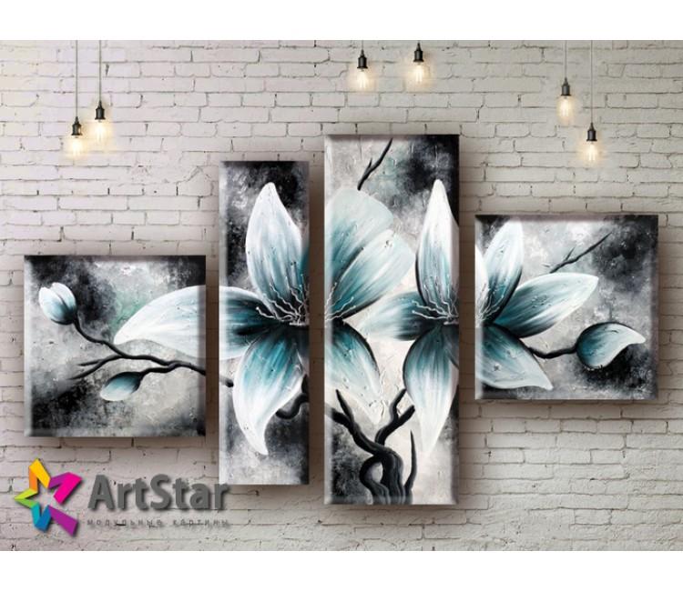 Модульные Картины, рисованные, маслом, Art. MHM17_4_216