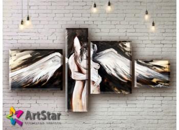Модульные Картины, рисованные, маслом, Art. MHM17_4_222
