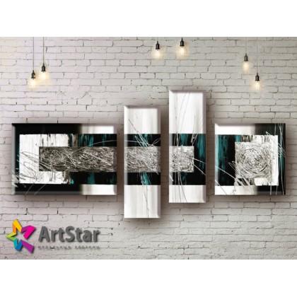 Модульные Картины, рисованные, маслом, Art. MHM17_4_238