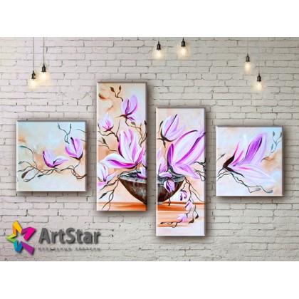 Модульные Картины, рисованные, маслом, Art. MHM17_4_265