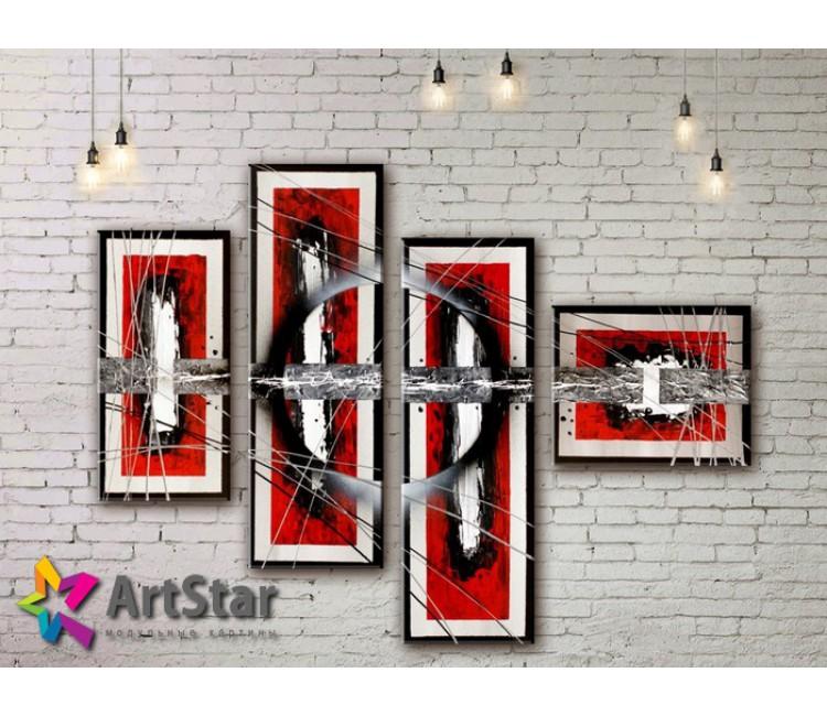 Модульные Картины, рисованные, маслом, Art. MHM17_4_269