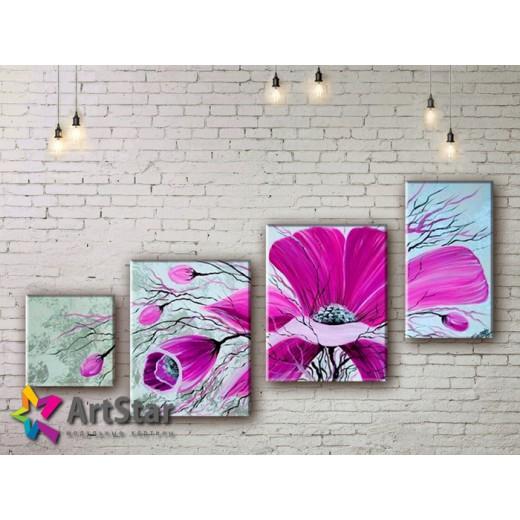 Модульные Картины, рисованные, маслом, Art. MHM17_4_273