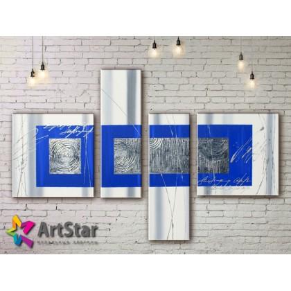 Модульные Картины, рисованные, маслом, Art. MHM17_4_316