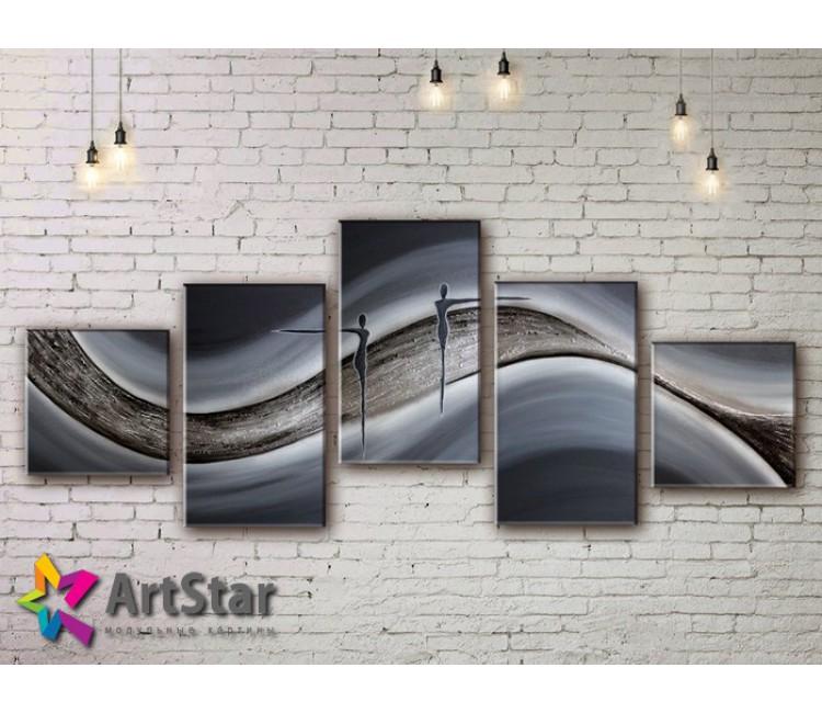 Модульные Картины, рисованные, маслом, Art. MHM17_5_064