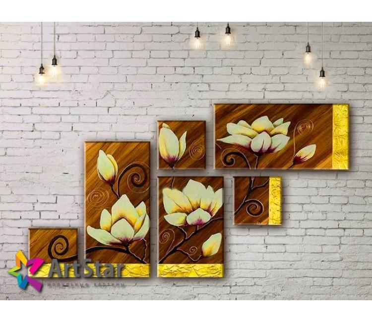 Модульные Картины, рисованные, маслом, Art. MHM17_5_066