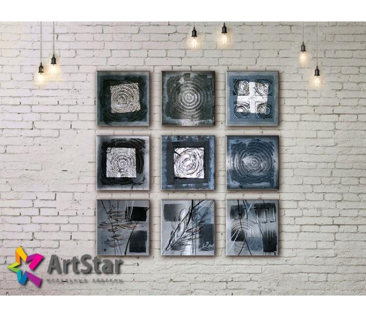 Модульные Картины, рисованные, маслом, Art. MHM17_5_096